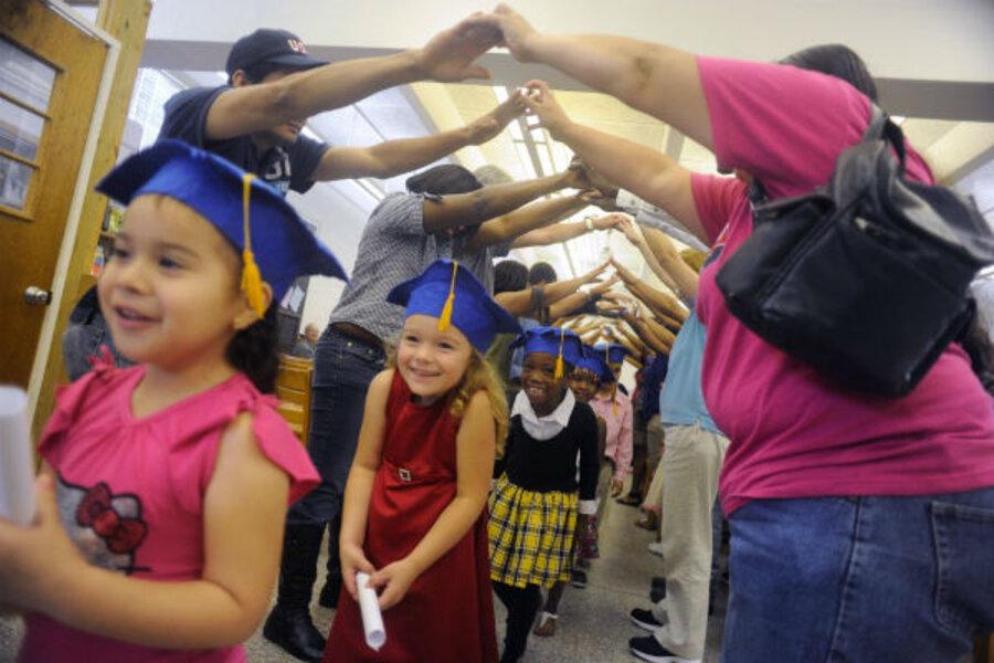 pre school graduation sad symptom of accelerated childhood