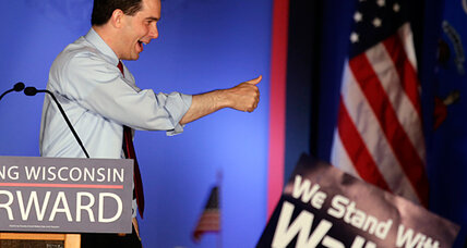 Did tea party put Scott Walker over the top in Wisconsin recall?