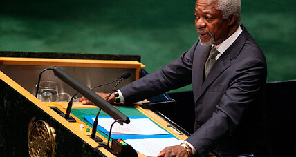 Kofi Annan admits Syria plan failing, calls for international action