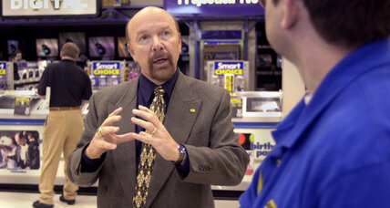 Time to sell? Best Buy founder quits board, explores sale.