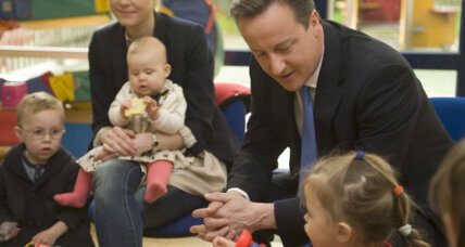 David Cameron left daughter at pub. Hey, been there done that