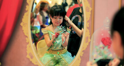 Disney Princess paint: New way for girls to be fashion victims