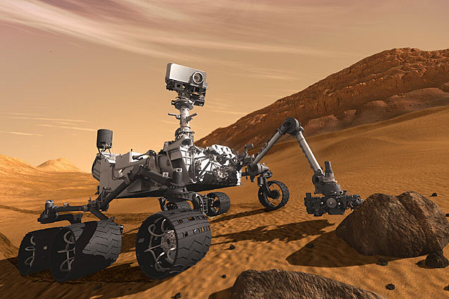 mars rover knocked out - photo #26