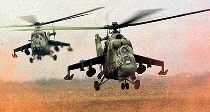 If Russia is sending attack helicopters to Syria, should US arm rebels?
