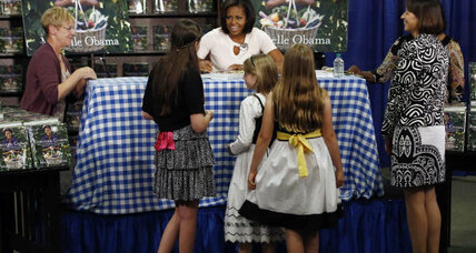 Michelle Obama receives thumbs-up from daughters on new book