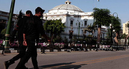 Egyptian high court dissolves parliament