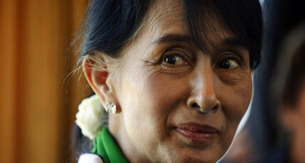 Aung San Suu Kyi accepts Nobel Peace Prize, 21 years later