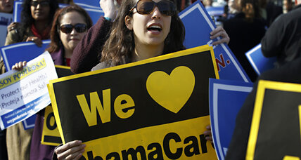 Obamacare: a compromise on the individual mandate