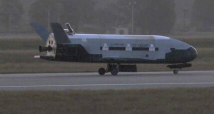 Mysterious Air Force space plane lands after 15 months in orbit