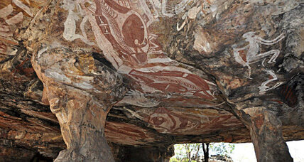 Australian rock art among world's oldest