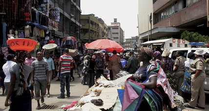 Rio+20 challenge: seeking sanitation in the slums of Lagos, Nigeria