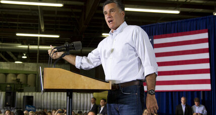 Mitt Romney defends his stance on taxes, rejecting revenue hike
