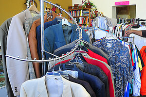 This April 2012 File Photo Shows A Rack Of Menu0027s Clothing At The B.A.T.H.  House Thrift Store In Ozark, Ala. Dry Cleaning Is Getting More And More  Expensive, ...