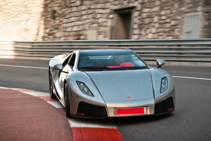 Coolest Cars Youve Never Heard Of GTA Motor Spano - Amazing cool cars