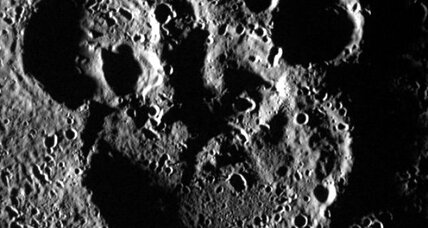 Mercury crater mysteriously resembles Mickey Mouse