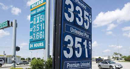 Gas prices drop, following oil's lead