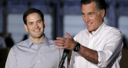 Mitt Romney says Marco Rubio is being vetted for VP. What's going on?