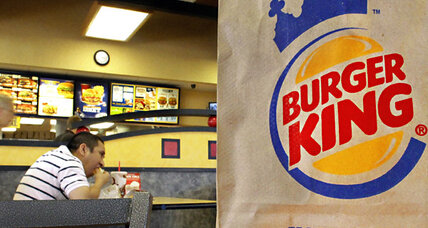 Burger King stock returns to the market