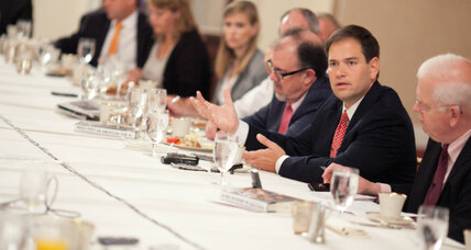 Sen. Marco Rubio: Immigration 'not easily solved' on campaign trail