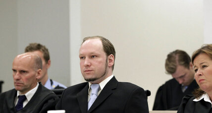 Prosecution urges psychiatric care, insanity ruling, for Anders Breivik