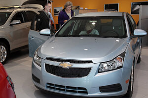 gm recalls chevy cruze for engine fire risk is yours on the list rh csmonitor com Aftermarket Engine Wiring Harness Chevy Truck Wiring Harness