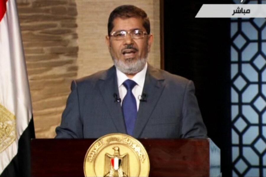 Image result for morsi elected president