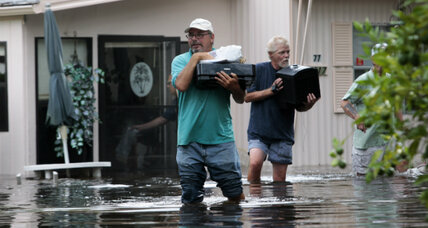 Tropical storm Debby lashes across Florida, spares Gulf oil rigs
