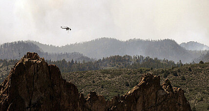 Fighting Western wildfires: Does Forest Service have enough air power?