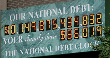 The national debt as a high school subject