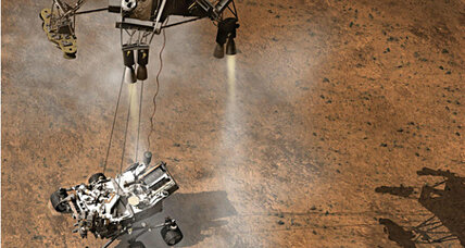Mars rover's crazy-looking landing plan is technically sound, says NASA