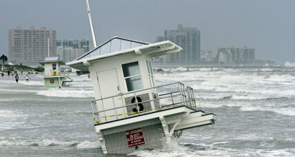Debby puts a damper on Florida vacations