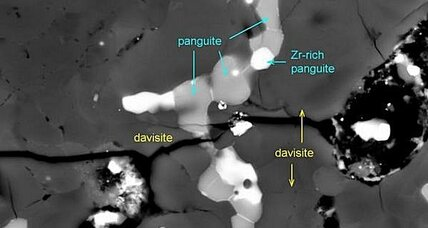 Panguite: Ancient mineral newly discovered