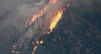 Monster wildfire rages in Colorado (+video)