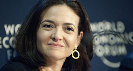 Sheryl Sandberg becomes Facebook's first board woman