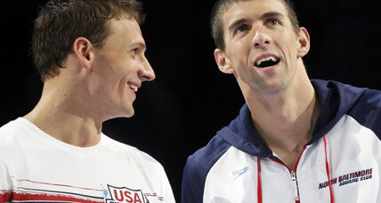 Michael Phelps slips past Ryan Locht in 200 trials