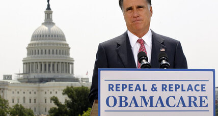 Mitt Romney: To get rid of 'Obamacare,' get rid of Obama