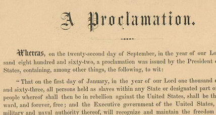Emancipation Proclamation fetches $2.1 million at auction