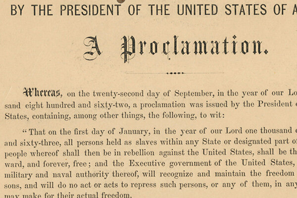 Emancipation Proclamation fetches $2.1 million at auction ...