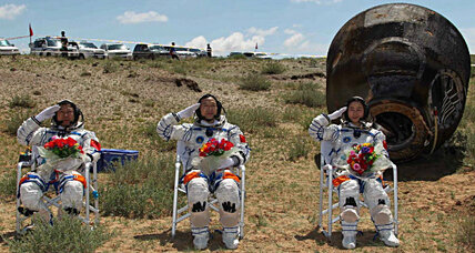 After 13 days in orbit, China's first female astronaut returns to Earth (+video)