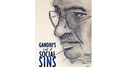 Reader recommendation: Gandhi's List of Social Sins