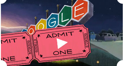 First drive-in theater doodle and the DIY drive-in movie revival (+video)