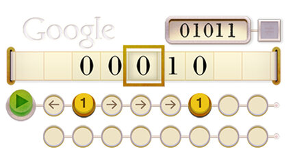 Alan Turing: Have you unlocked the secret Google doodle message?