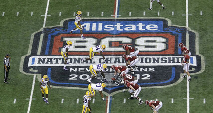 At last, college football playoffs: BCS commissioners agree on plan