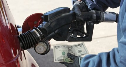 Gas prices fall below $3 in two states