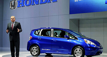 Honda Fit EV gets record fuel-efficiency rating: 118 m.p.g.