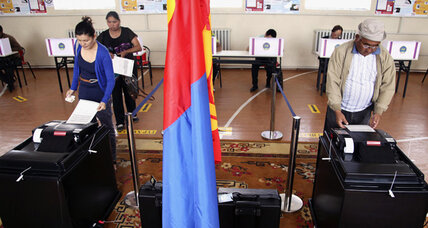 Mongolia's top election issue: how to spend new riches