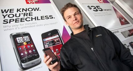 Prepaid iPhone from Virgin: $549, but only $30 a month