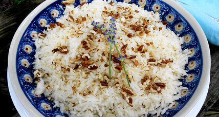 Growing and cooking with lavender and rice