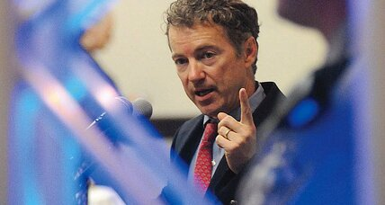 Why did Rand Paul forsake his dad Ron Paul for Mitt Romney?