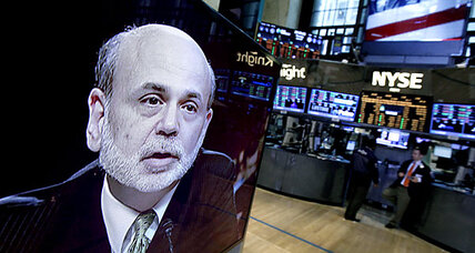 Stocks lose steam after Bernanke speaks